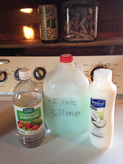 Home Made Fabric Softener and Stain Remover