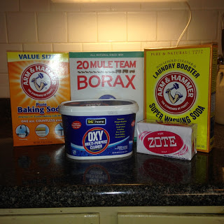 Wash Day–making my own laundry detergent